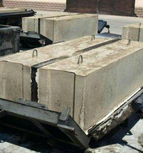 Фундаментные блоки ФБС.Плиты перекрытия,дорожные.