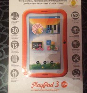 Планшет детский Play Pad 3