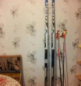 Лыжи беговые,1,90м.