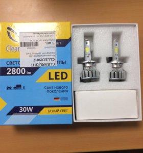Светодиодные лампы Н7 30Вт