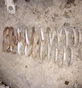 Комплект задних пружин, ваз 2109, 2108,21099