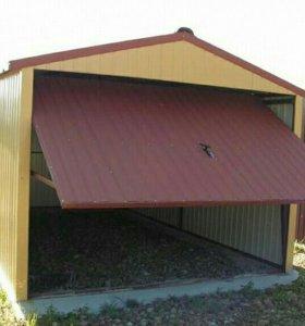 Производство гаражей сборно разборных