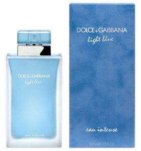 DOLCE & GABBANA LIGHT BLUE EAU INTENSE, 100 ML