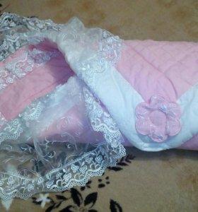 Одеяло-конверт для принцессы