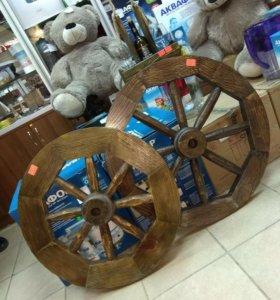 Дубовые колеса