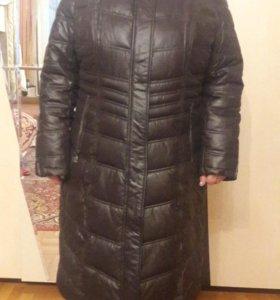 Зимнее пальто пуховик, новое!!!
