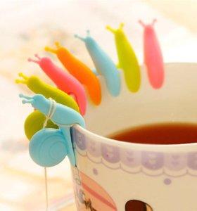 Улитка-держатель для чайных пакетиков