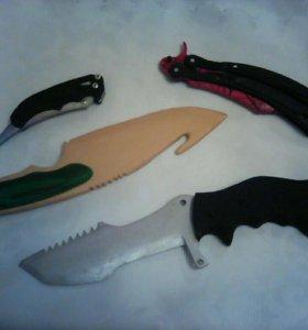 Ножи из дерева.
