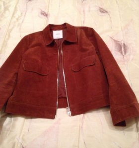 Кожаная куртка Mango 46-48 р