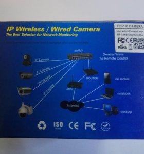ip wireleipss wired camera