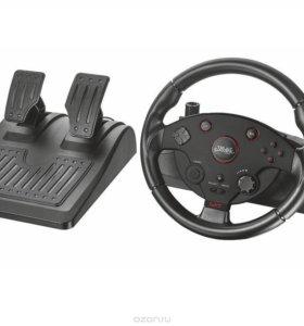 Игровой руль trust racing wheel gtx 288