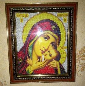 Икона из бисера
