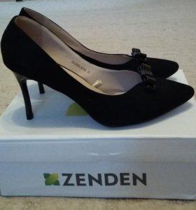 Туфли Zenden чёрные р.39