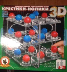 Настольная игра Крестики-нолики 3D