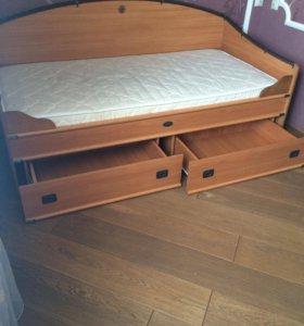 Кровать детская ШхВхГл: 1957 х 932 х 977