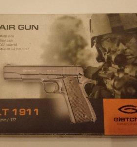 воздушный pistolet clt 1911 cal 4.5mm/ /177