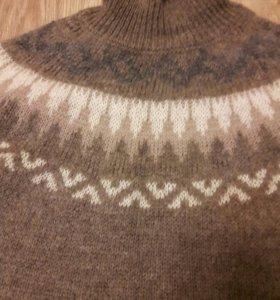 Платье-свитер, шерсть-ангора