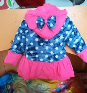 Куртка на девочкк