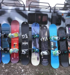 Продам сноуборды с (креп. и боти. )