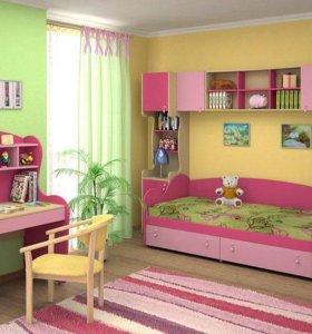 Детские комнаты На любой цвет и вкус
