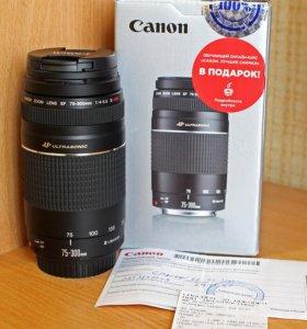 Объектив Canon EF 75-300 mm f/4-5.6 III USM