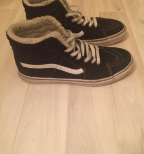 Зимние ботинки vans 41 (б/у)
