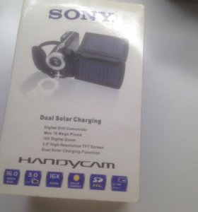 Камера-Sony dual solar charging