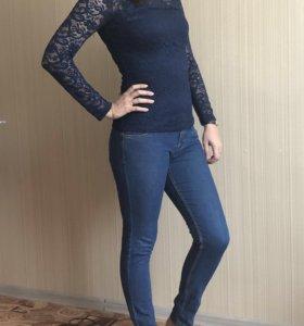 Кофты и джинсы