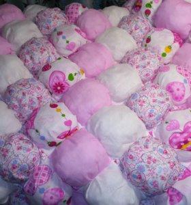 Одеяло детское бомбон ☁️ бонбон зефирное