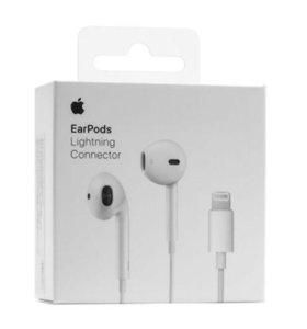 Наушники Apple EarPods A1748 с разъемом Lightning