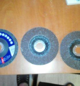 Круги лепесковые на болгарку диаметр 125мм