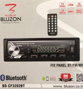 Автомагнитолы BLUZON с Bluetooth 4.2|4x60Bт| НОВЫЕ