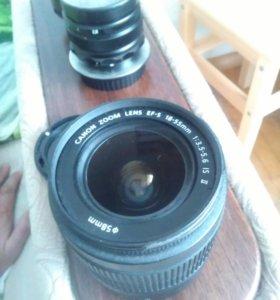 Объектив Canon 18-55 EF-S 3.5-5.6 IS II
