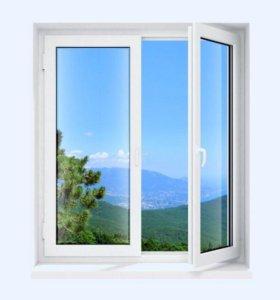 Пластиковые окна, строительство балконов, обшивка