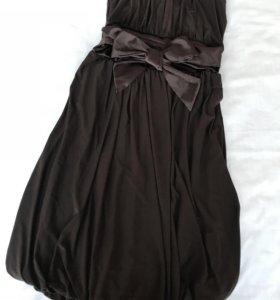 Платье женское с бантом