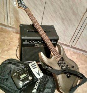 Гитара+усилитель+процессор
