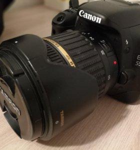 Canon d550 + Tamron 17-50