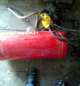 Газовая апаратура на машину италия 4покаление бак5