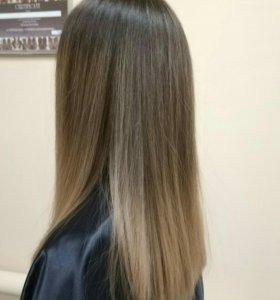 Окрашивания Ботекс Стрижки Разглаживание волос