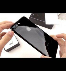 Apple iPhone 7 Plus 128 GB, Чёрный Оникс. Ростест