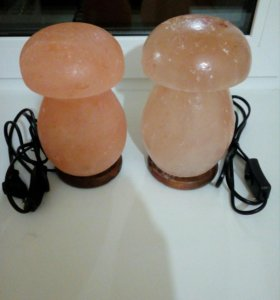 Соляные лампы 500руб.
