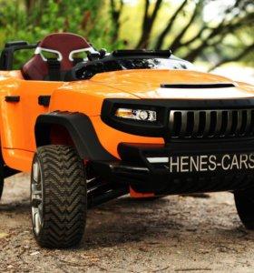 Детский электромобили HENES BROON T870 оранжевый