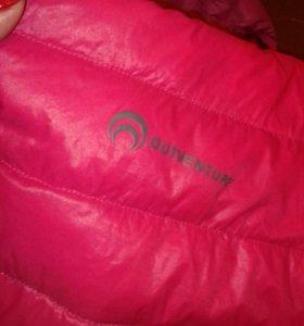 Фирменая куртка пуховик 52,56