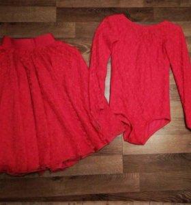 Рейтинговое платье (купальник и юбка)