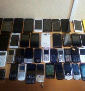 Мобильны телефоны.