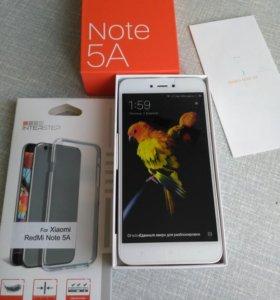 Xiaomi redmi note 5a.новый на гарантии