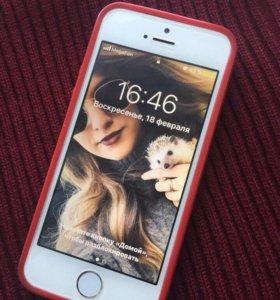 Продам Айфон 5s,память 32 гб. Состояние хорошее.