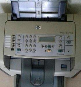 Принтер, сканер, факс, сканер.