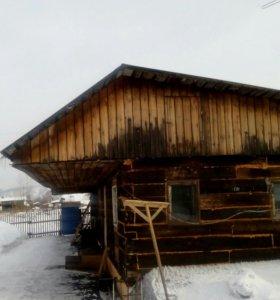 Уборка снега с крыш домов дач гаражей опасных крыш