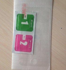 Стекло защитное для экрана iPhone 4, 4s